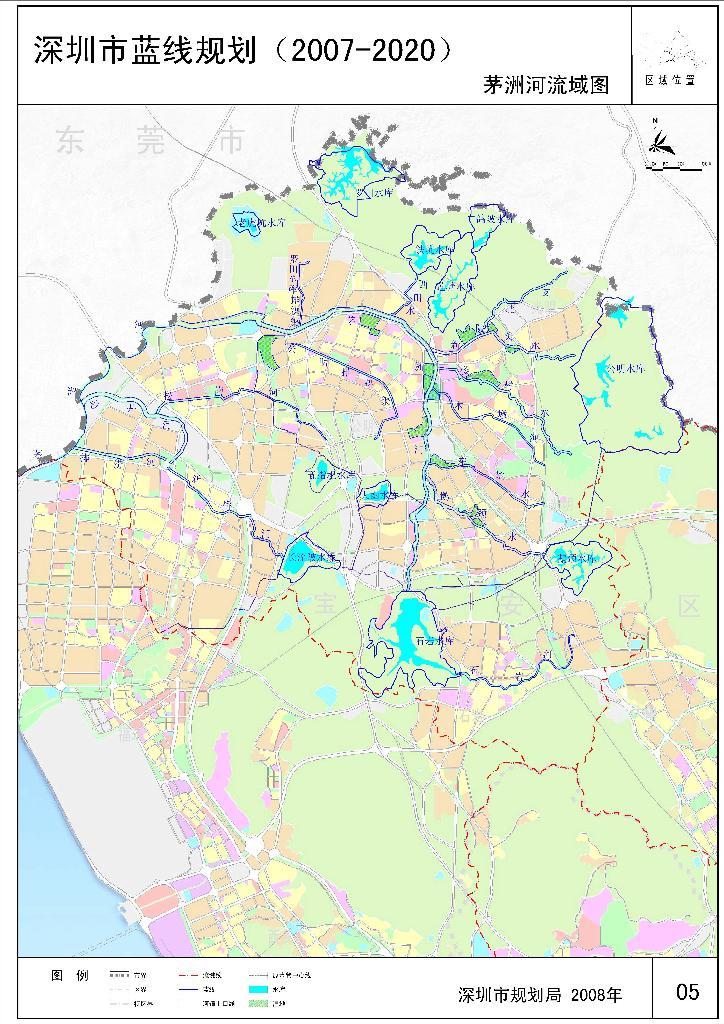 茅洲河水系