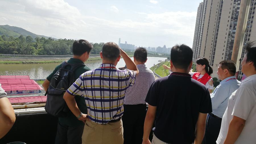 民间河长 | 深圳民间河长受邀参与罗湖区政协视察治水提质工作