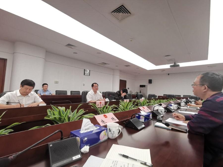 民间河长 | 绿源受邀参加市人大代表关于水污染治理的专家座谈会