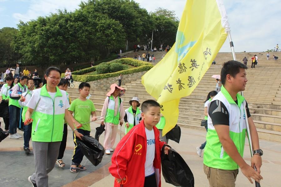 共爱珠江 | 民间河湖长赋能计划英德在地行动